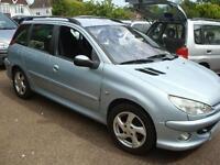 Peugeot 206 SW 2.0HDi 90 ( a/c ) 2005 XSi Versatile Family Diesel Estate