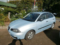 Seat Ibiza 1.2 2003 Ideal 1st car for Newly qualified driver