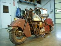 Looking to buy old bikes, car parts etc..$$$$$$