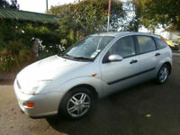Ford Focus 1.6i 16v 1999. Zetec 5 door Hatchback