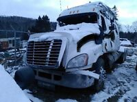 Parting out 2011 freight liner cascadia