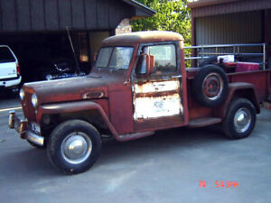 Wanted Willys Jeep Truck