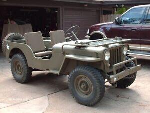 Recherche willys jeep plaqué 1941-1952