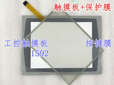 For Panelview Plus 1500 2711p-t15c4a8 2711p-t15c4d9 Touchpadmembrane Keyboard