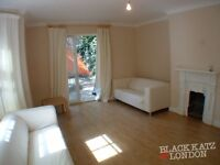 Lovely and spacious split level 3 bed period conversion with large outdoor area N4