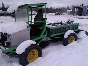 Home made tractor