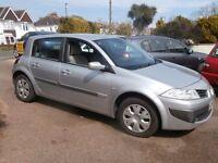 Renault Megane 1.6 VVT Expression 5dr Hatchback 2006 56 Reg £1,295 p/x welcome