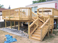 Deck, Fence , Masonry and More