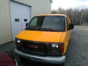 GMC 3500 work van  for sale it's a must go must sell deal.