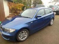 BMW 118 2.0TD ES 2008 Reg 5 Dr Hatchback