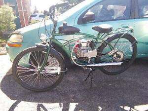 Brand new .gas powered bycycle with 4 Stroke 49 cc engine