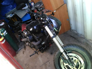 Got a custom made bike every thing is there except engine
