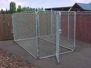 Chain link fence dog pen $300 obo