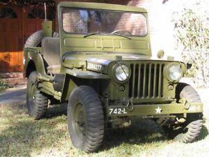 Jeep Willys m38 CDN