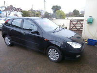 FORD FOCUS 1.6 GHIA 2003 MOT 4 MONTHS-ALLOYS-AIR CON-CD-VERY CLEAN CAR-WE CAN DELIVER TO YOU
