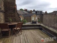 Stunning 2 bed conversion with a private roof terrace!!!