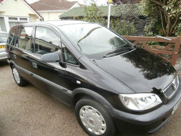 Vauxhalll Zafira 1.8i 16v 7 Seater Automatic Club 2003
