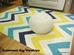 Chevron Cotton Floor Rugs