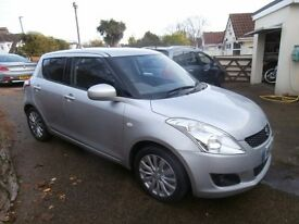 Car Suzuki Swift 1.2 SZ4 5dr Hatchback 2012 12 Reg 71200