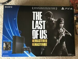 MINT PS4 TLOU Two Controllers Plus 6 Games