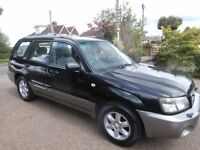 4x 4 WHEEL DRIVE Subaru Forester 2.0 X 5dr SUV ESTATE 2003 53 Reg