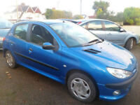 Peugeot 206 1.4 2003 5 Dr Entice Ideal Small Family Car