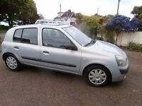 Renault Clio 1.4 16v Expression 5dr 2004 04 Reg £995 92168 p/x welcome