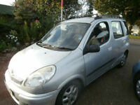 Toyota Yaris Verso 1.3 VVTi T Spirit Automatic 1 Owner
