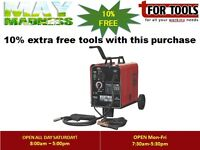 Sealey MIGHTYMIG150 Gas/No-Gas MIG Welder 150A 230V