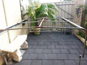 Steel frame for canvas canopy off a mitzibishi trident ute Butler Wanneroo Area Preview
