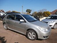Toyota Corolla 1.4 VVT-i Colour Collection 5dr Hatchback 2005 55 Reg p/x welcome