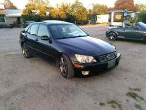 2001 lexus is300 etested and certified