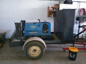 Gas Welder on a trailer
