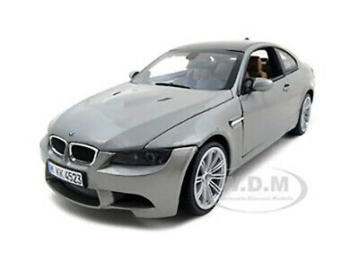 BMW M3 COUPE GRAY 1/18 DIECAST MODEL CAR BY MOTORMAX 73182 Bmw M3 Coupe Car