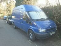 Transit van lwb high top