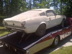 Wanted: Looking to buy a 1967/1968 Mustang Fastback Projec