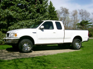 2002 f150 7700 series extended cab pick up truck 4x4