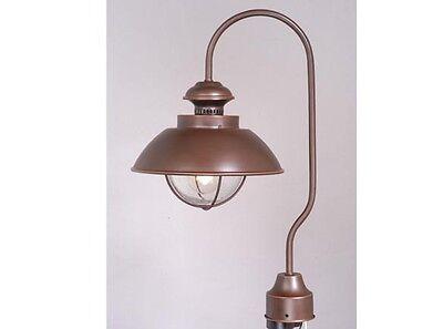 - Bronze Light Nautical Post Lighting Harwich Country Vaxcel Landscape OP21505BBZ