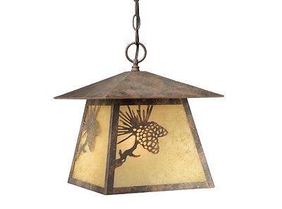 Whitebark Vaxcel Outdoor Indoor Pendant Lighting Olde World Patina OD50546OA