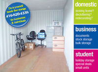 SELF STORAGE **1st MONTH FREE!!** MOVING MOVERS
