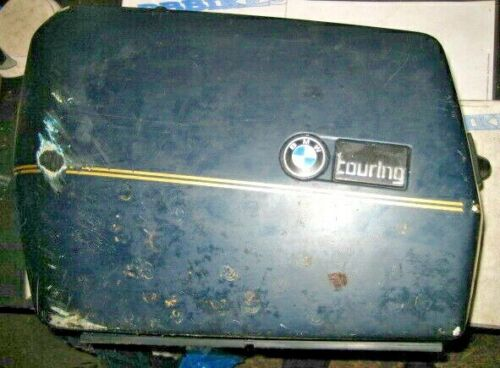 BMW K100 K75 Left Hand Touring Hard Pannier Luggage Spares or Repair 11271DN-B