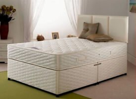 BEST QUALITY GUARANTEE!* Double or Small Double Orthopaedic Bed and Mattress SAME DAY DELIVERY