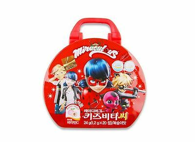 Miraculous Ladybug Bag for Kids + Vitamin Candy Play Toy Animation Gift With - Ladybug Candy Bags