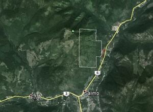 Salmo, BC – 960 Acres only - $599,000