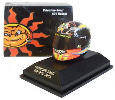 Minichamps Valentino Rossi Helmet - Motogp 2003 1/8 Scale