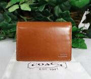 Coach British Tan Wallet