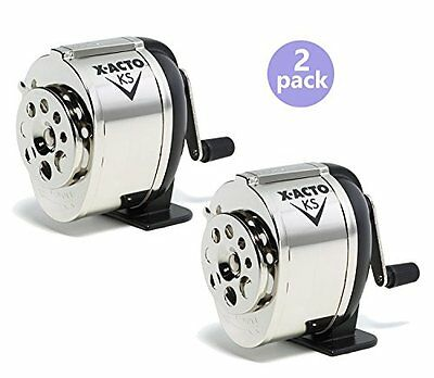 X-acto Model Ks Table- Or Wall-mount Pencil Sharpener 2pack
