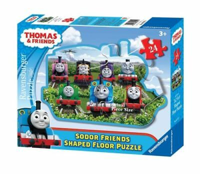 Thomas and Friends Sodor Friends Shaped Floor Puzzle 24 Piece 3'x2' -