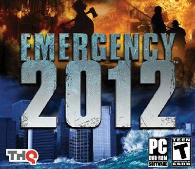 Computer Games - Emergency 2012 PC Games Windows 10 8 7 XP Computer fire department truck NEW