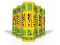 IsoverSpacesaver Insulation Roll Wall Floor Loft Roll | 100mm 150mm 170mm 200mm